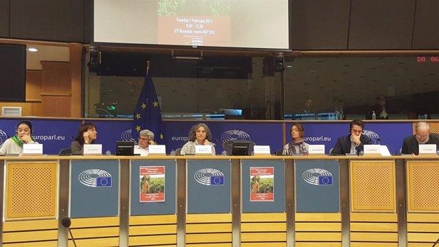 Senra y Vilalba, con otros ponentes de la jornada sobre soberanía alimentaria