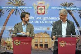 Carlos Alonso y Francisco Linares