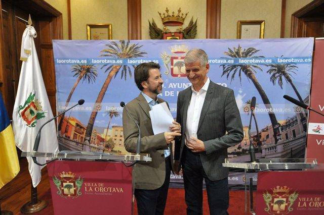 Nota De Prensa Y Fotografías: La Orotava Inversiones