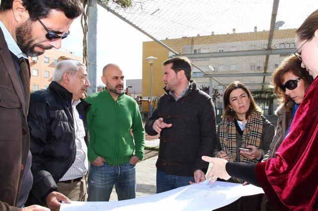 20170207 Np Comienzo Obras Plaza Igualdad Plan Supera Iv