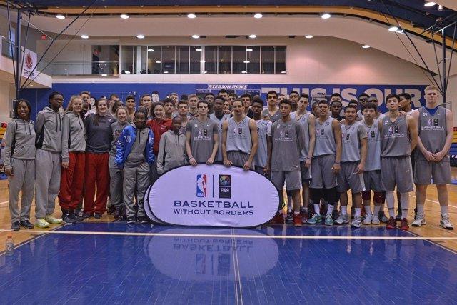 Basketball Without Borders Global Camp de la NBA