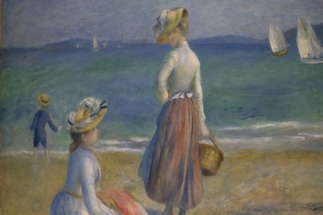 Exposición de Renoir en el Bellas Artes de Bilbao