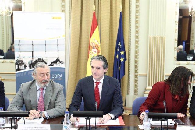 El ministro Íñigo de la Serna se reúne con compañías y asociaciones aéreas