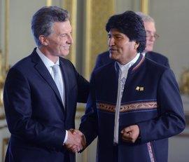Morales dispuesto a trabajar con Macri a pesar de sus discrepancias idológicas