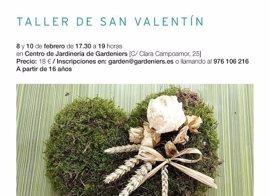 Gardeniers organiza un taller de arte floral para San Valentín