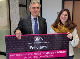 Las estudiantes de la UIB Llúcia Ramis y Bàrbara Font ganan los viajes a Berlín de BMN-Sa Nostra