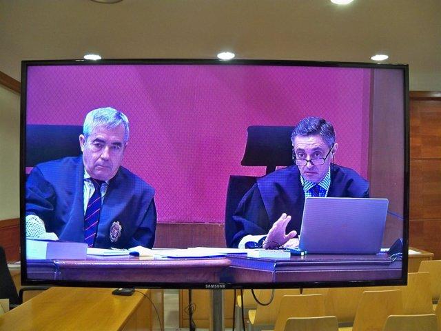Los fiscales del caso 9N Emilio Sánchez Ulled y Francisco Bañeres