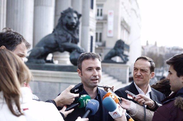 El diputado de Ciudadanos Guillermo Díaz
