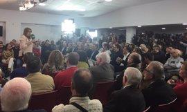 """Susana Díaz destaca el papel del PSOE en estos """"100 días de desgobierno"""" de Rajoy en los que """"se ha dedicado a la gente"""""""
