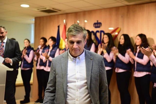Jorge Dueñas entrenador.
