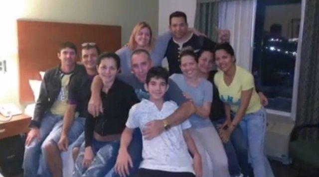 Cubanos secuestrados
