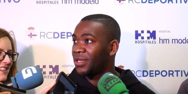 Ola John, nuevo jugador del Deportivo de La Coruña