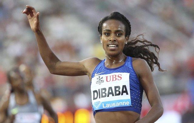 La Atleta Etíope Genzebe Dibaba