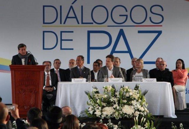 Mesa de negociación Gobierno Colombia - ELN