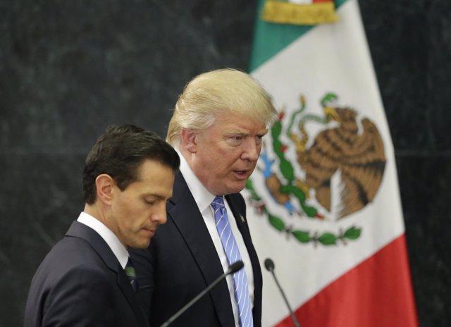 Peña Nieto y Trump