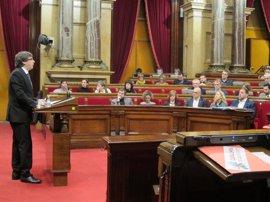 """Turull considera una """"vergüenza"""" el juicio del 9N y duda que España sea un Estado de Derecho"""