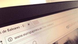 Baleares tiene 32.843 dominios .es registrados, un 2,1% del total