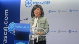 PP pide a Gobierno vasco un plan integral la deslegitimación del terrorismo en centros escolares