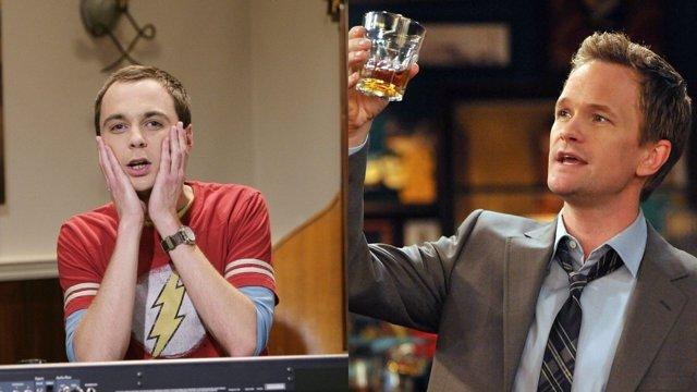 Sheldon Cooper y Barney Stinson