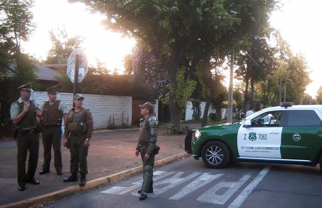 Carabineros investigan una explosión en el domicilio del presidente de Codelco
