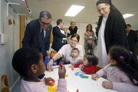 El barrio de la Mariola de Lleida participa en el programa Invulnerables contra la pobreza infantil