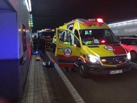 Herido muy grave un menor de 15 años tras caerse desde una torre de ventilación de la M-30