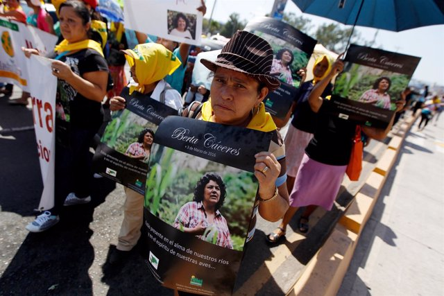 Asesinato de la activista Berta Cáceres,