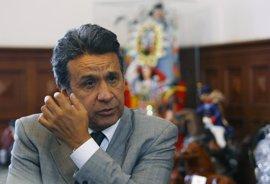 Lenín Moreno, vencedor en primera vuelta en Ecuador seguido de Lasso y Viteri, según otro sondeo
