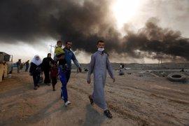 Extinguidos los incendios en 20 de los 25 pozos petrolíferos de Qayyara