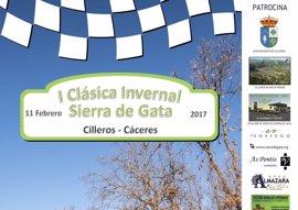 La 'I Clásica Invernal Sierra de Gata' inaugurará el calendario automovilístico en Extremadura este sábado
