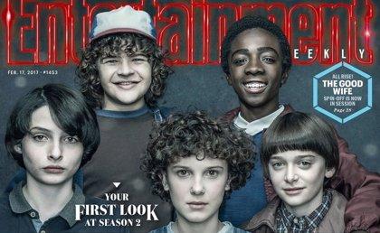 Stranger Things: Eleven estrena 'pelazo' en la nueva imagen de la 2ª temporada