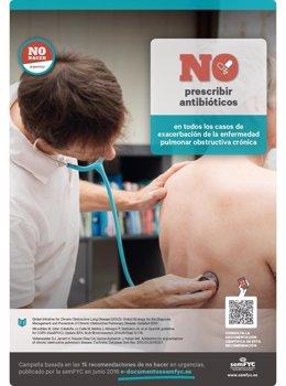 """La semFYC promueve una campaña con las principales recomendaciones de """"No Hacer"""
