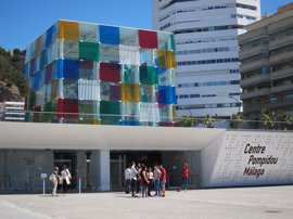 Danza y literatura se fusionan en el Centre Pompidou Málaga de la mano de Nieves Rosales y Pablo Bujalance