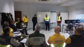 Técnicos de Infoca y agentes de Medio Ambiente reciben formación en la plataforma de entrenamiento Seilaf