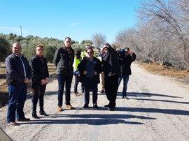 Comienza la adecuación de la carretera entre Lopera y Arjona con un presupuesto de casi un millón de euros