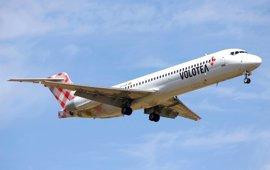 Volotea ofrecerá en 2017 más de 60.000 asientos y más de 460 vuelos desde el aeropuerto de Loiu