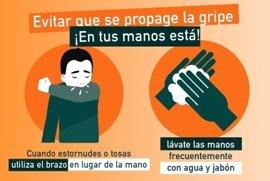 La gripe sigue siendo epidémica excepto en Asturias y Navarra, donde es local, en La Rioja esporádica y en Canarias nula