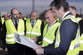 Fomento estima que las obras de duplicación de vía entre Atocha y Torrejón de Velasco finalizarán en 2018