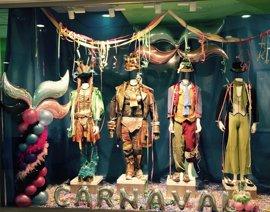 Cádiz.- Bahía Sur acoge una exposición de trajes de agrupaciones premiadas en el carnaval de Cádiz