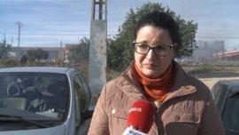 """Una trabajadora de una empresa de Paterna: """"Ha sido horrible, teníamos las llamas en la cabeza"""""""