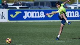 """Rodrigo (Villarreal): """"Nuestro objetivo es alcanzar la zona de arriba"""""""