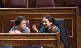 Iglesias y Errejón renuncian a preguntar al Gobierno en el Pleno del Congreso posterior a Vistalegre