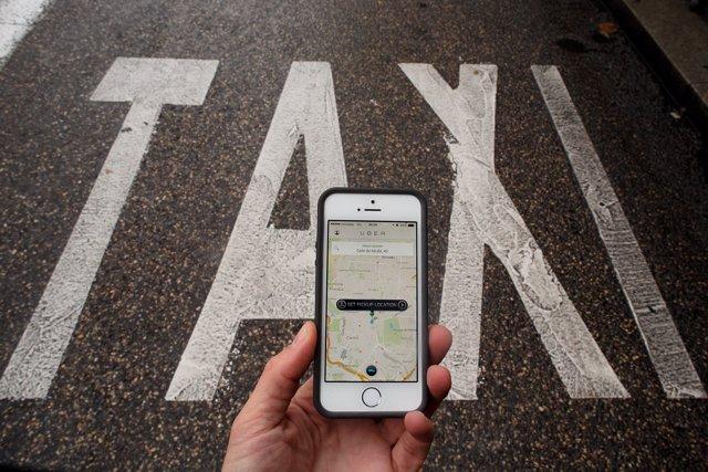Usuario de Uber y Cabify