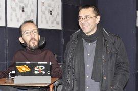 "Monedero afirma que a Errejón le falta ""carisma"" para liderar Podemos y por eso quiere a Iglesias de ""florero"""