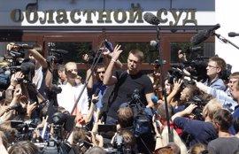 Londres expresa su preocupación por la sentencia suspendida dictada en Rusia contra Alexei Navalni