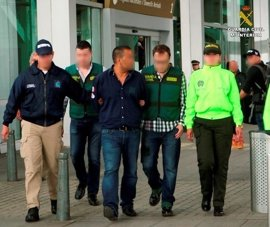 Detenidas en Colombia diez personas buscadas por la Justicia española por tráfico de drogas