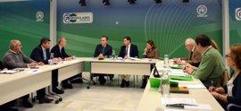 PP de Andalucía se reúne con el sector cementero para conocer sus inquietudes ante la bajada del consumo en la región