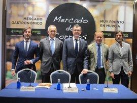 El emblemático edificio de Correos en Murcia se convertirá en un mercado gastronómico