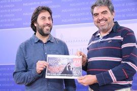 """Podemos: La Junta es """"insumisa"""" al mandato del Parlamento para recuperar servicios de 112 y 061"""