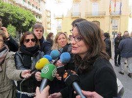 """Gürtel.- Oltra dice que la financiación ilegal del PP ya no es """"presunta"""" y que Rajoy se aprovechó de la corrupción"""